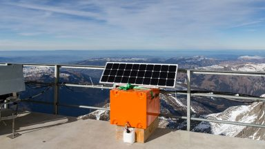 Fuel cells deployed in the Alps