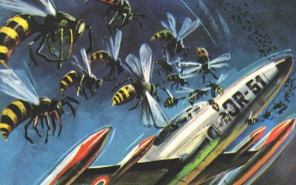 Coverpage Comic «Meteor» - Bees attack